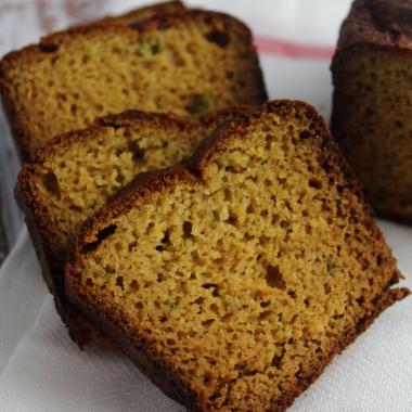 Yellow Squash and Jalapeño Bread (Paleo, Grain Free)
