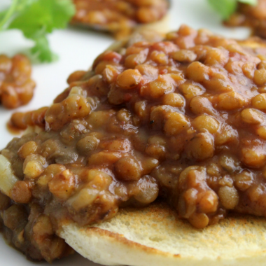 Instant Pot Barbecue Lentils