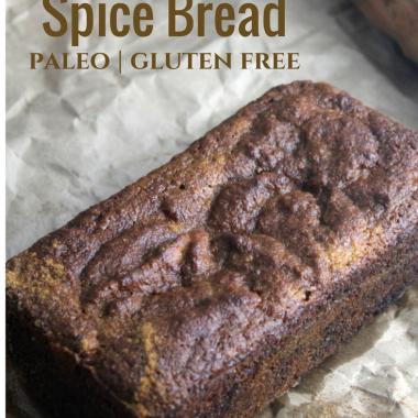 Sweet Potato Spice Bread (Paleo, Gluten-Free)