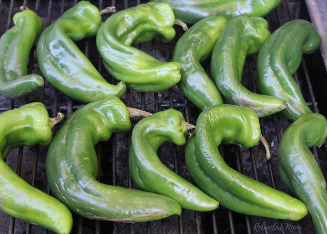 Cool fall weather brings Hatch Green Chiles! Find out how to roast green chiles so you can cook with them all year long!