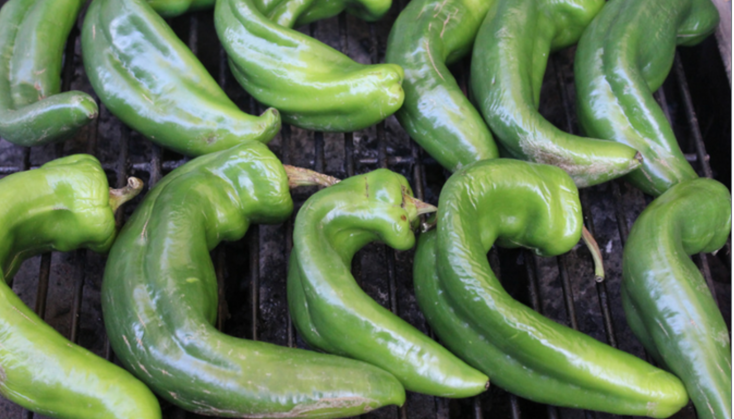 Hatch Chiles on the Grill