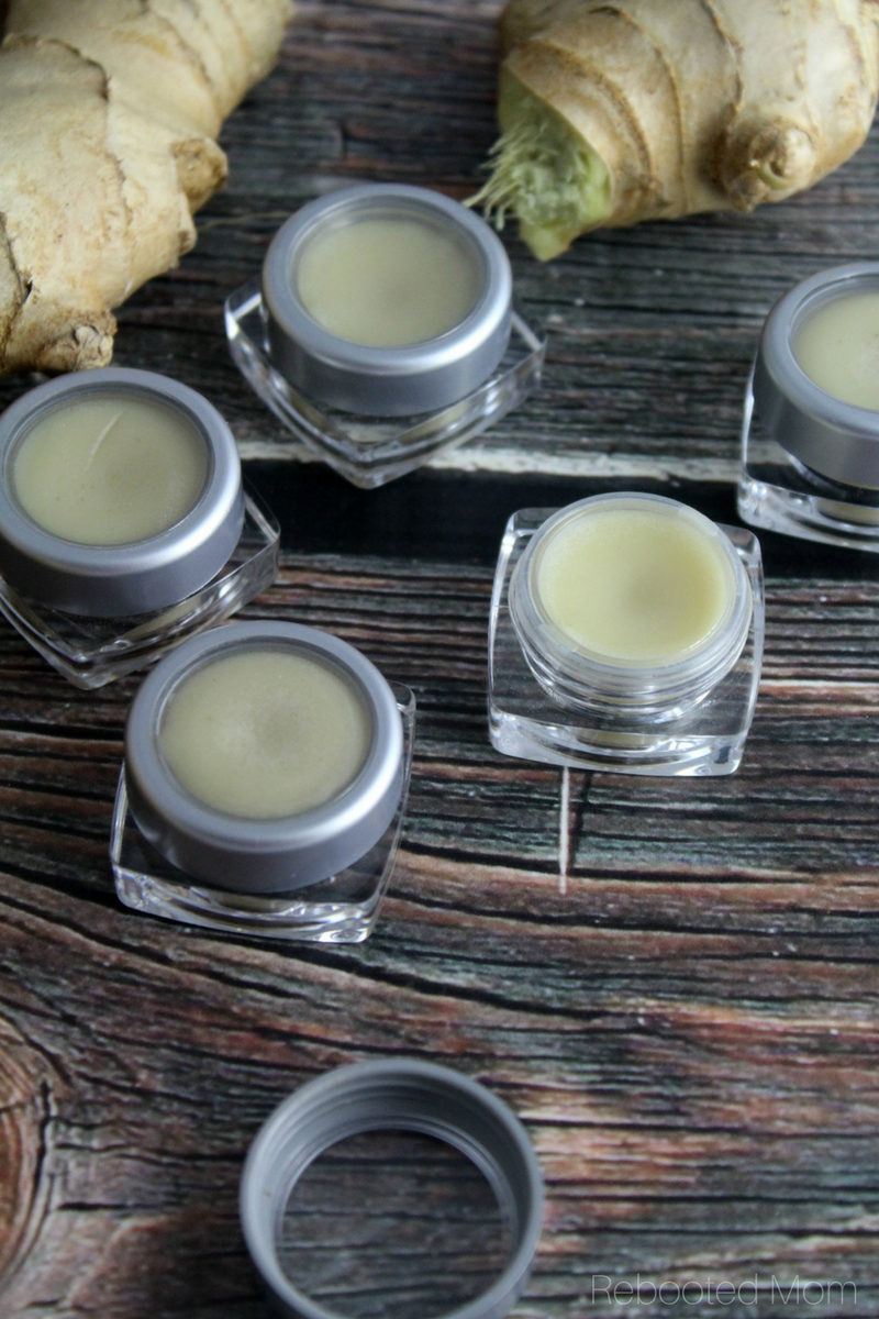 Welcome fall with this simple Ginger Orange Lip Balm - whipped together in less than 5 minutes with 4 simple ingredients!
