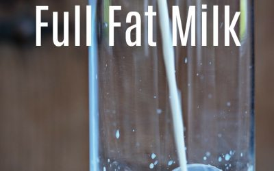 Why my family of 7 drinks full fat, raw milk from pastured cows.