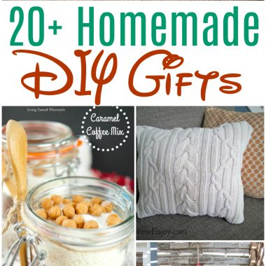 Over 20 Homemade Gifts to DIY