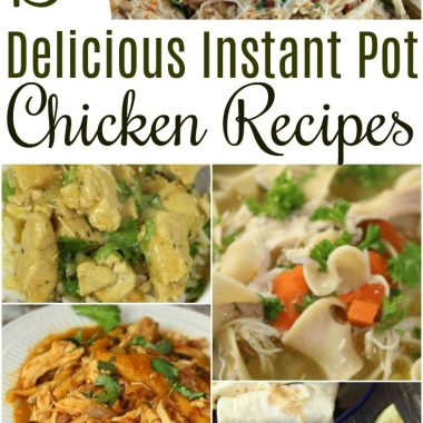 Over 15 Delicious Instant Pot Chicken Recipes