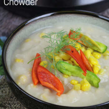 Instant Pot Potato and Corn Chowder