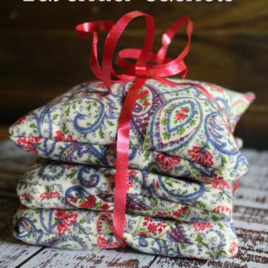 Easy Sew Lavender Sachets