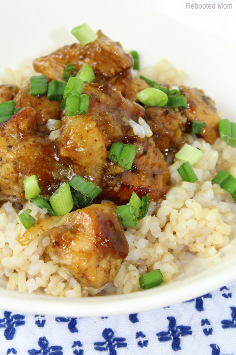 Instant Pot Orange Chicken - Rebooted Mom