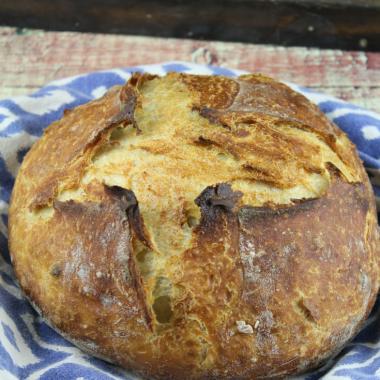Cinnamon Raisin Whey Sourdough Bread