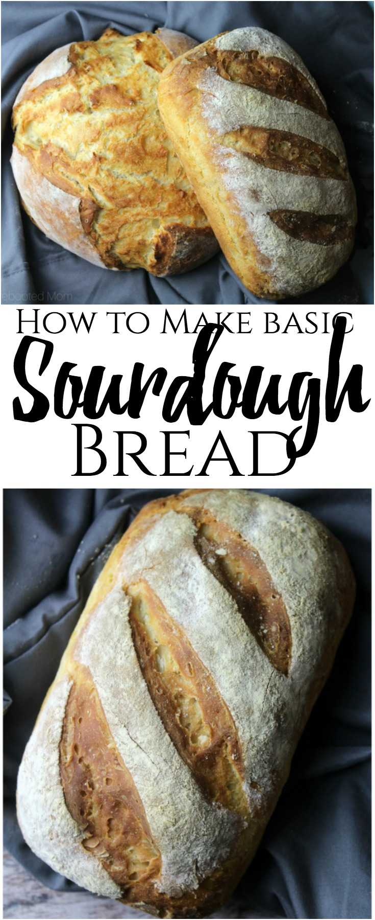 A simple sourdough recipe using a fresh, active starter that results in a wonderfully soft sourdough bread! #sourdough #bread #breadmaking