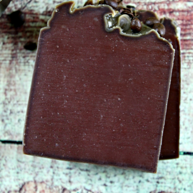 Coffee and Cocoa Cold Processed Soap