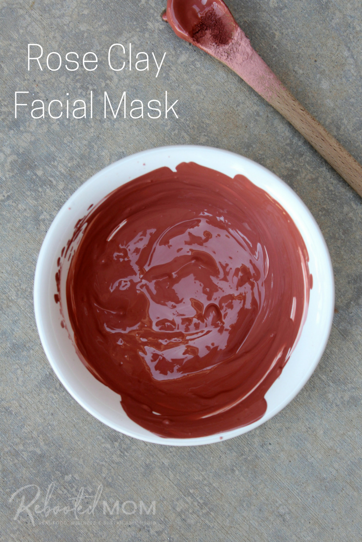 This easy rose clay facial mask is perfect for supporting healthy skin and a renewed complexion and is easy to put together! #RoseClay #facialmask #naturalbeauty #kaolinclay #claymask #DIY #beauty