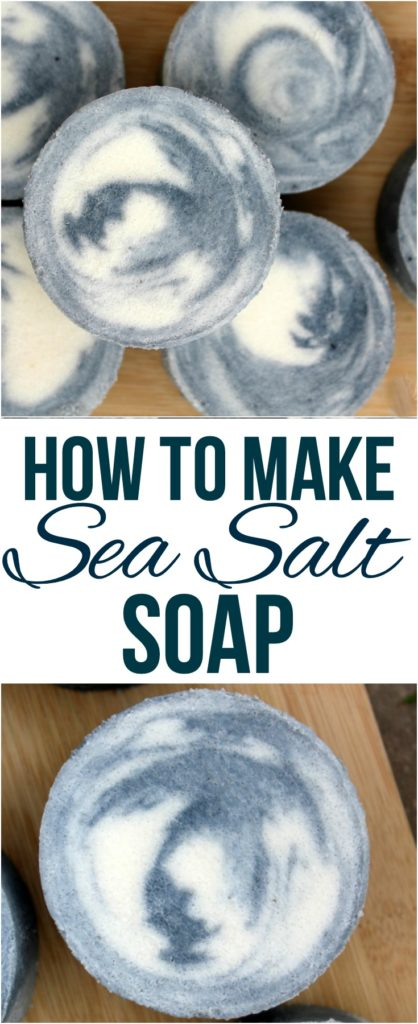 How to Make Sea Salt Soap