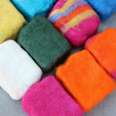 How to Make Wool Felted Soap