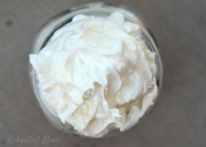 This whipped tallow body butter contains 3 simple ingredients and is wonderfully moisturizing for dry skin! This simple recipe will help you make your own whipped body butter at home.