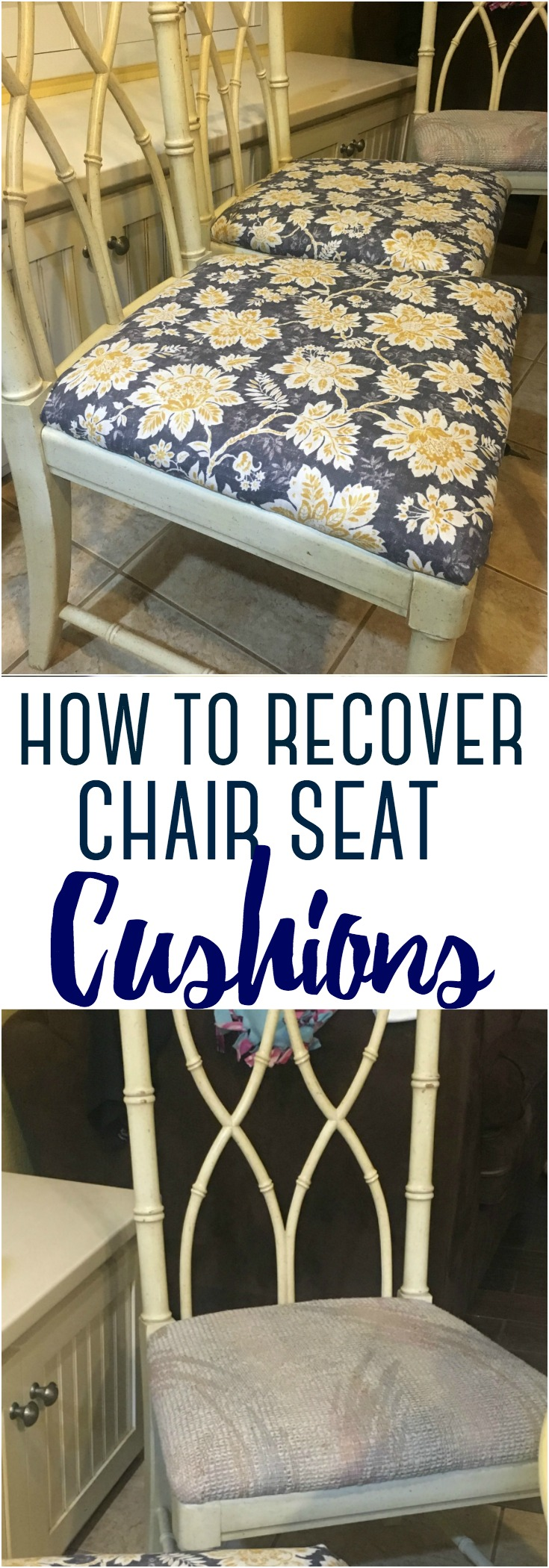 With a little DIY know-how, and a few simple supplies and tools, you can transform ugly dining chairs into beautiful pieces. Here's how to recover chair seat cushions yourself.