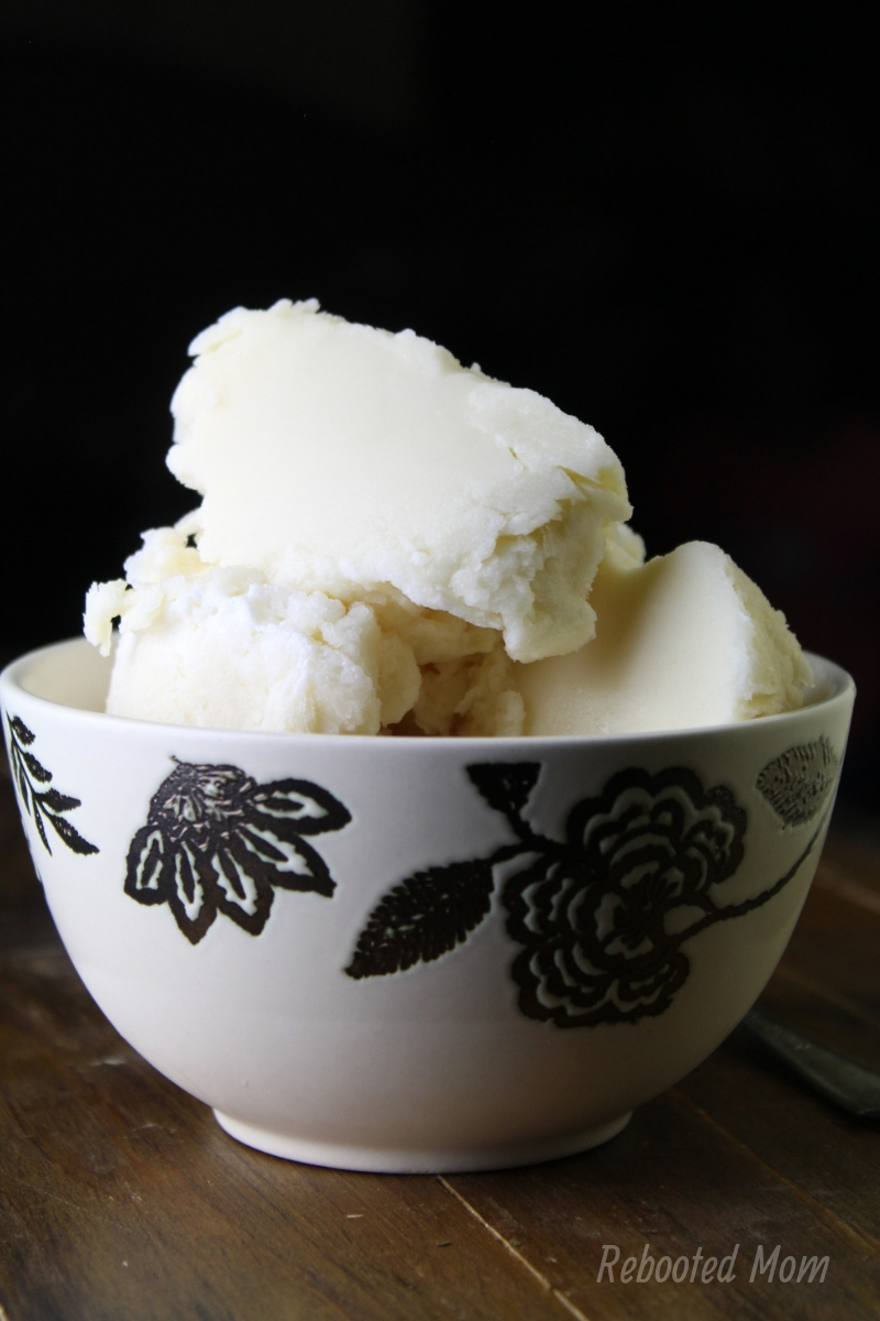 Nutrient dense homemade raw vanilla ice cream - full of healthy, nourishing ingredients, big on flavor, and easy to make!