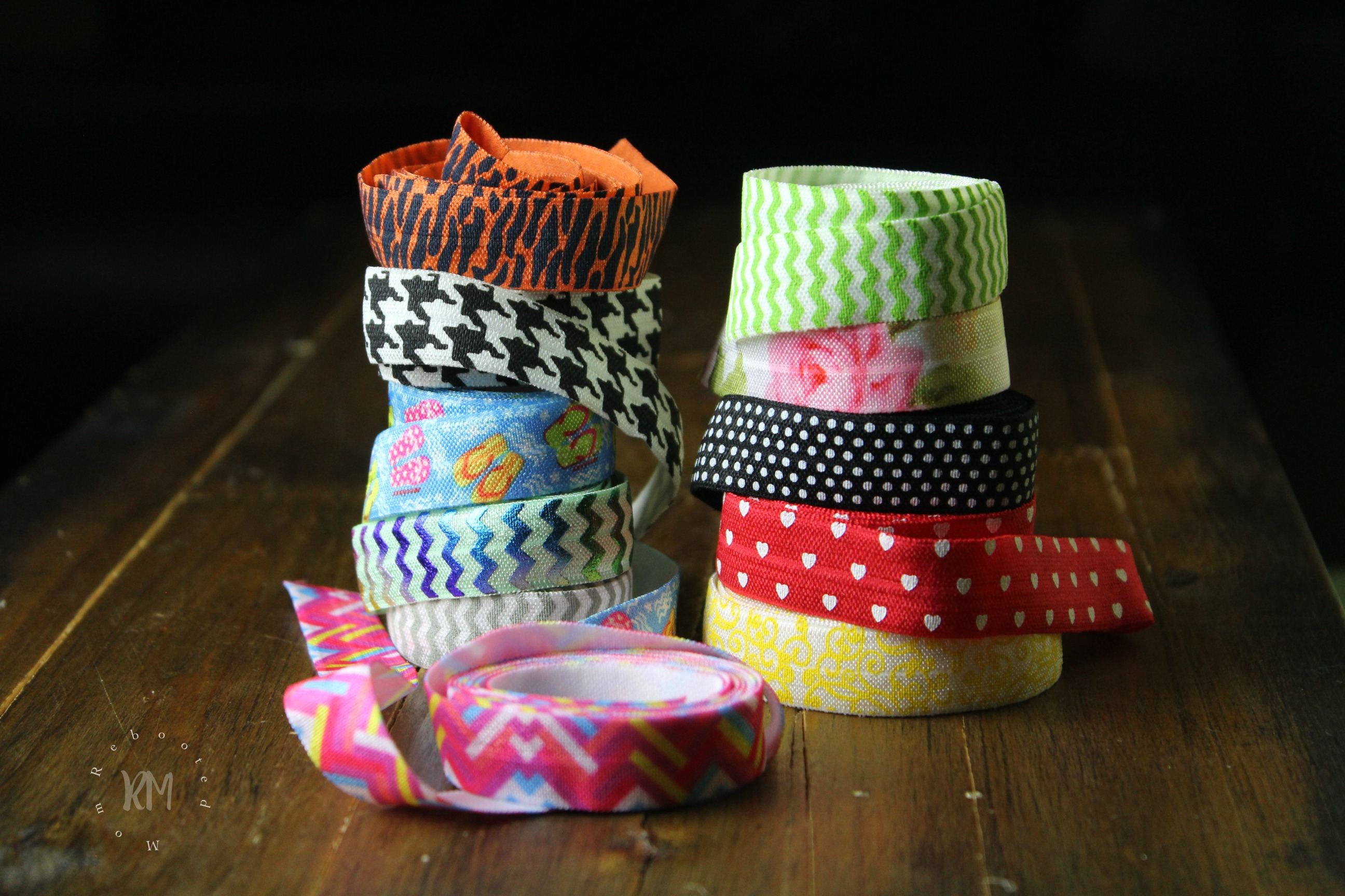 Make your own no-crease hair ties for a quarter each (sometimes less!). These hair ties make a great gift and a perfect crafting activity for your girls!