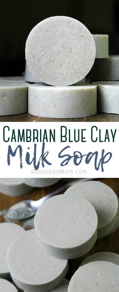 Cambrian Blue Clay Milk Soap