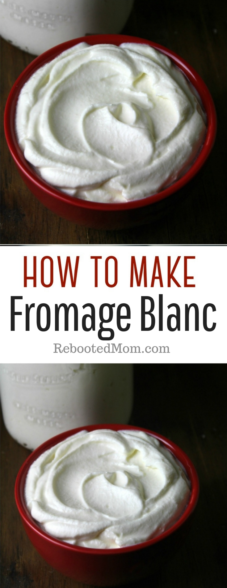 Fromage Blanc is a soft, spreadable cheese with a mild flavor. Learn how to make it easily at home with a few simple ingredients!