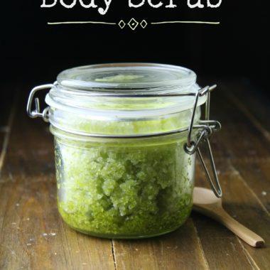 Dead Sea Salt Scrub Recipe