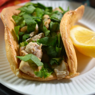 Lemon Chicken Cloud Bread Tacos