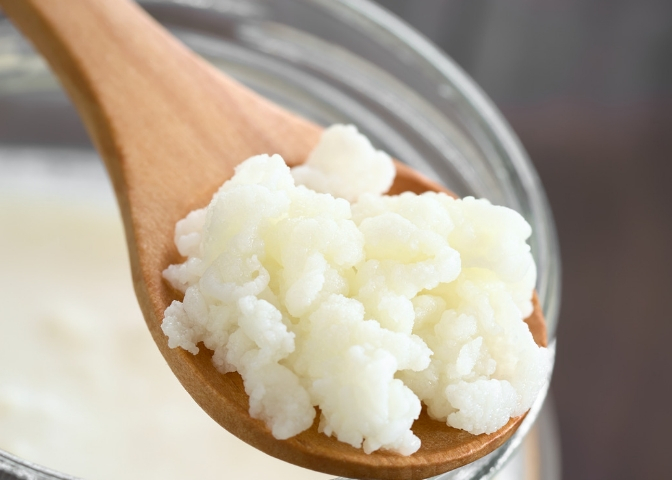 Learn how to dehydrate kefir grains - it is an easy process that anyone can do and and one that helps you create a back up of your grains for later use.