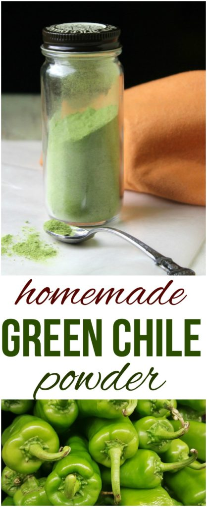 Dehydrated Green Chile Powder