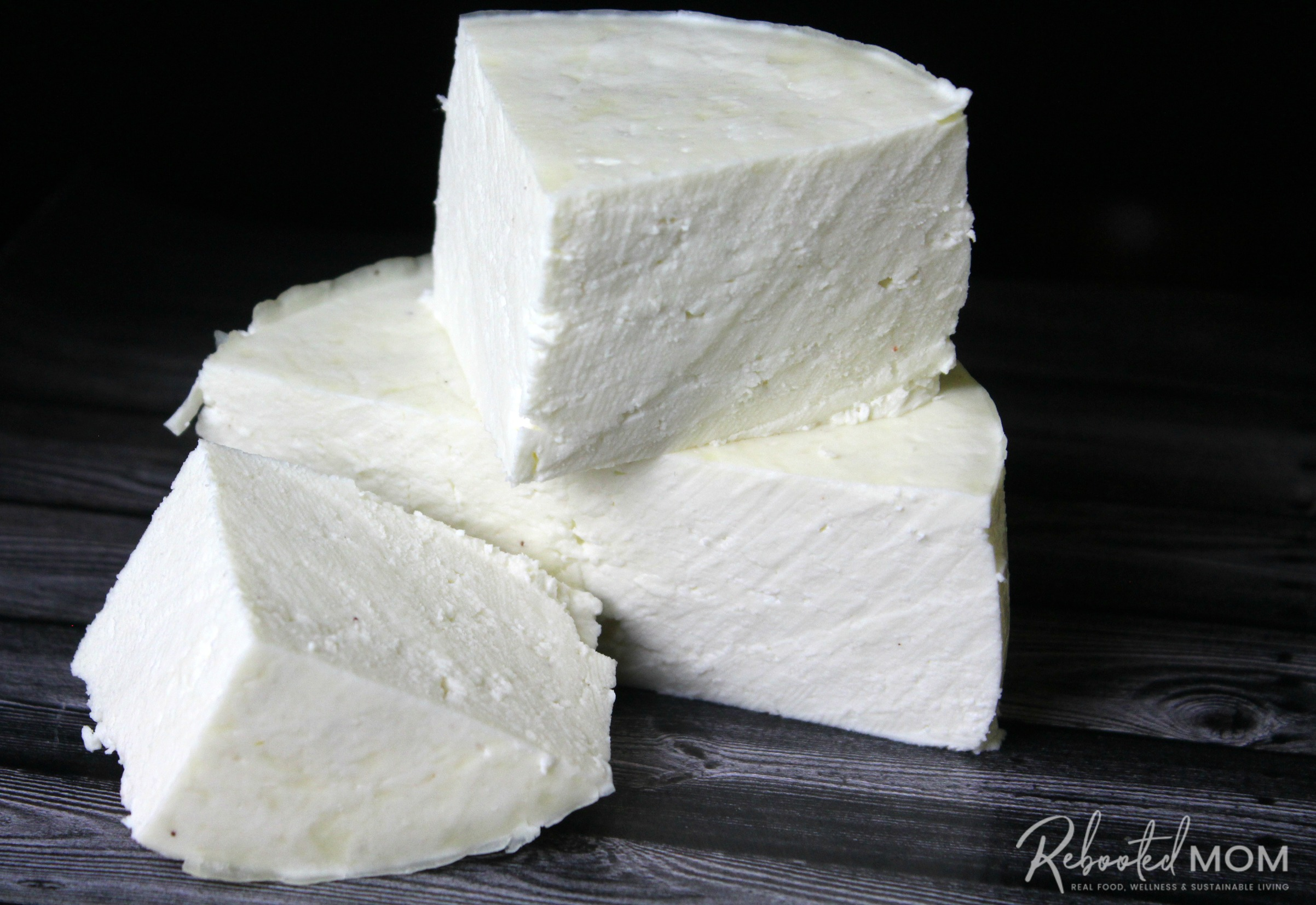 This Yogurt-Cultured Rennet Cheese Recipe is an easy way to learn the art of cheesemaking and requires just 3 simple ingredients!    #rennet #cheese #yogurt #cheesemaking #realfood #rawmilk