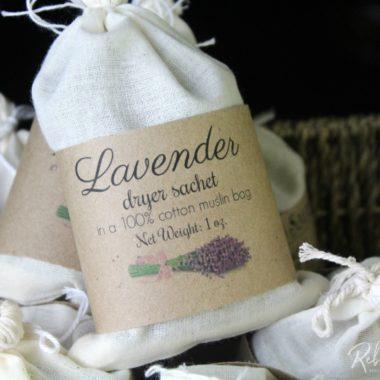 Herbal Dryer Sachets DIY