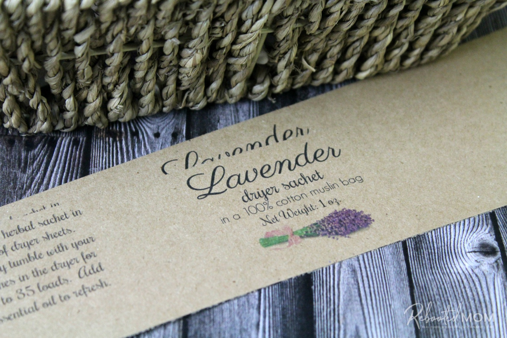 Labels for Herbal Dryer Sachets \\ These herbal dryer sachets are a beautiful and healthy way to scent your laundry and they make wonderful gifts for friends, co-workers and even teachers!