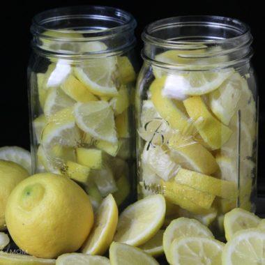 How to Preserve Lemons (Fermented Lemons)