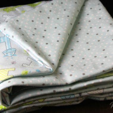 Simple Baby Receiving Blanket