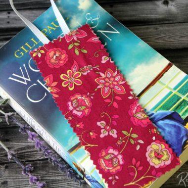 No Sew Fabric Bookmark