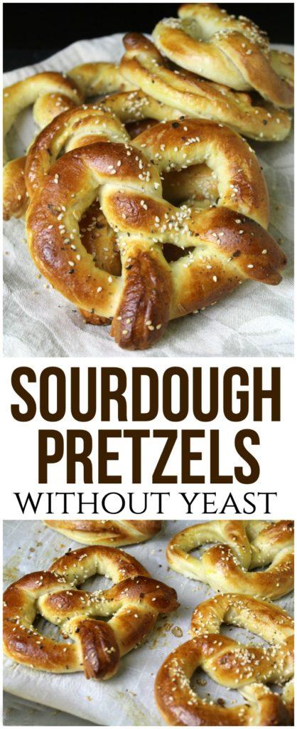 Sourdough Pretzels Recipe (No Yeast