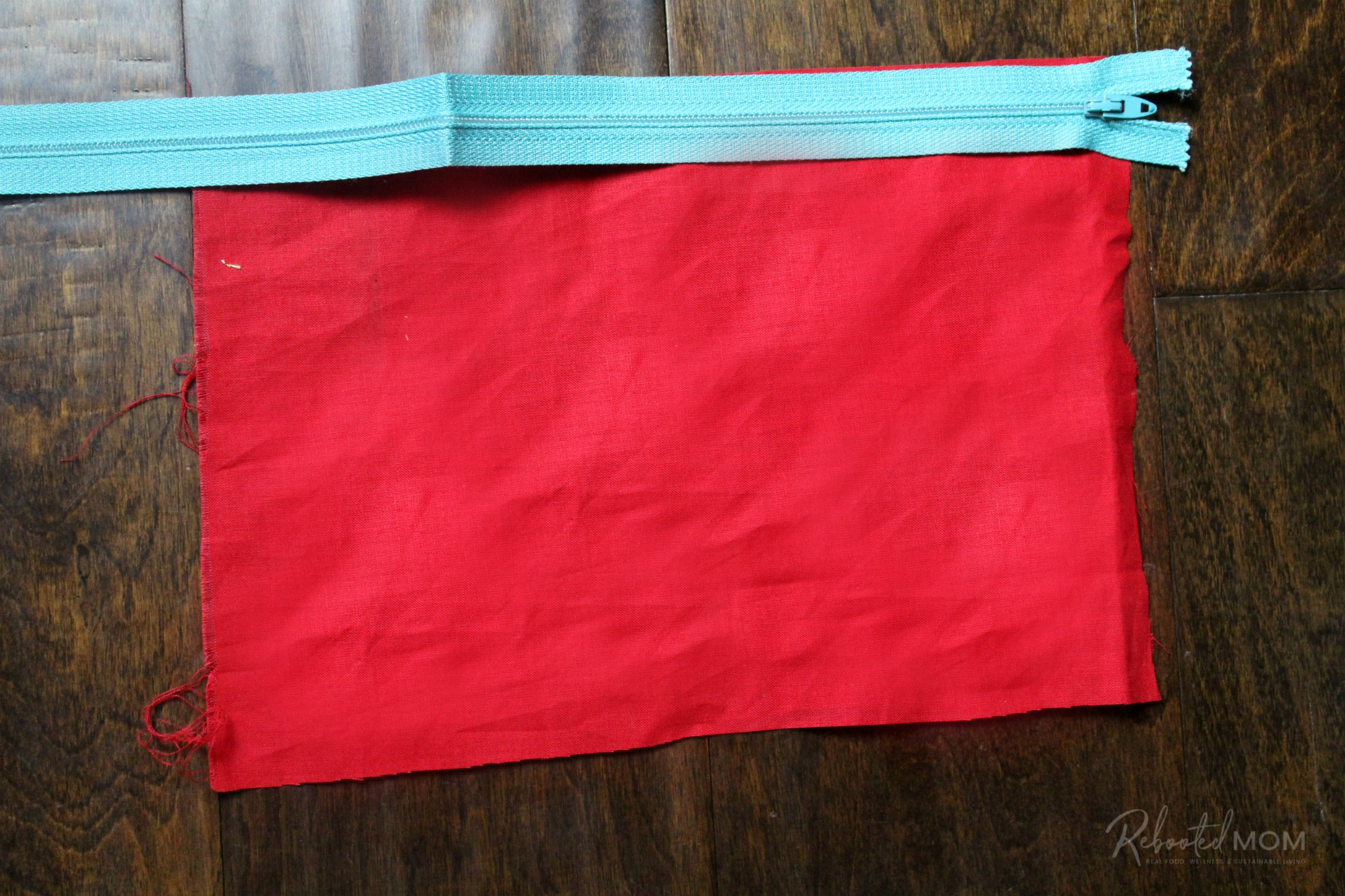 Step 2, zipper pouch