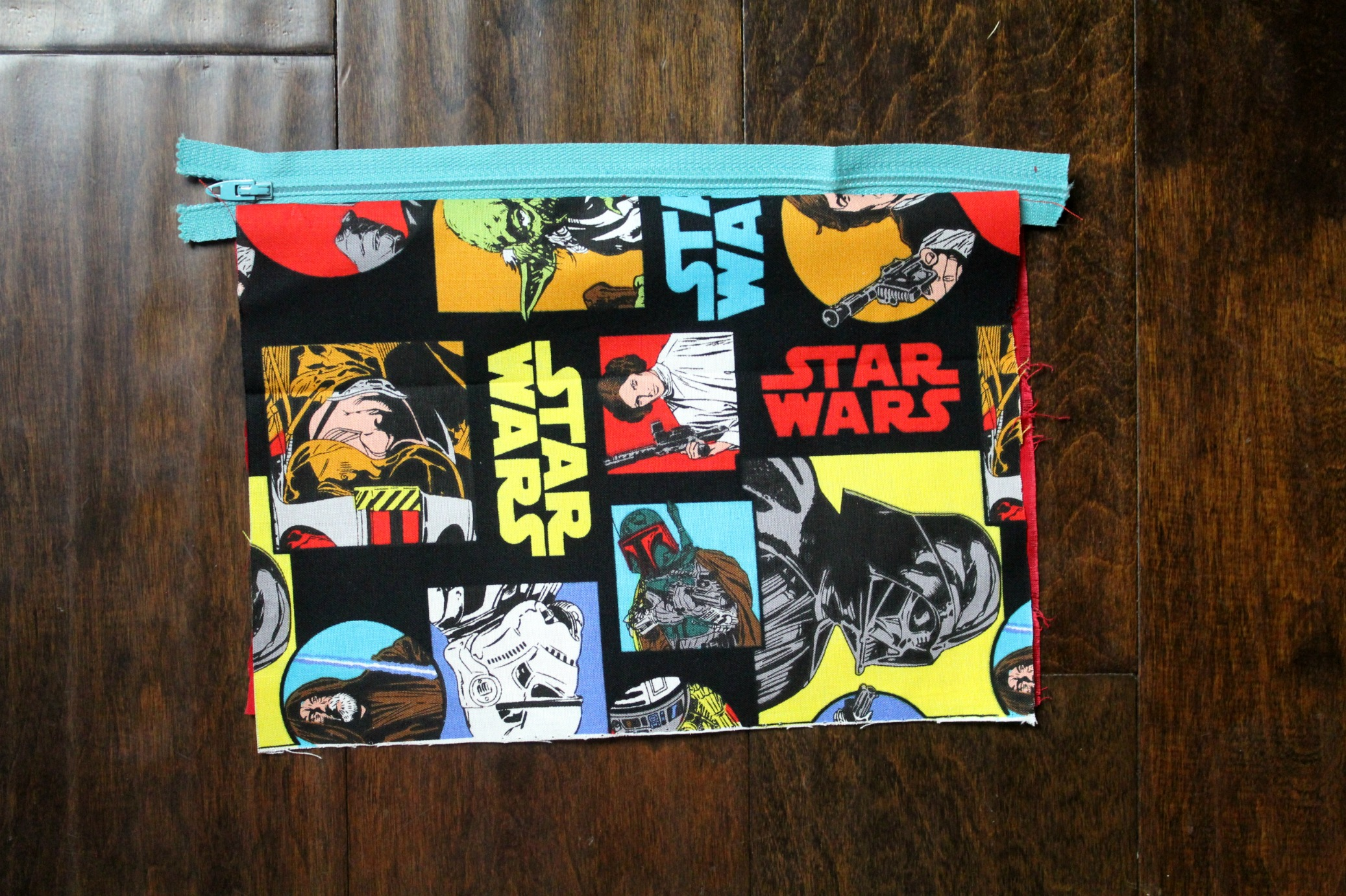 Zipper pouch, step by step
