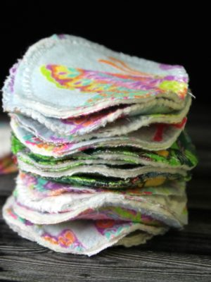 DIY Reusable Cotton Rounds