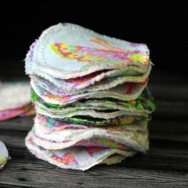 DIY Reusable Cotton Rounds