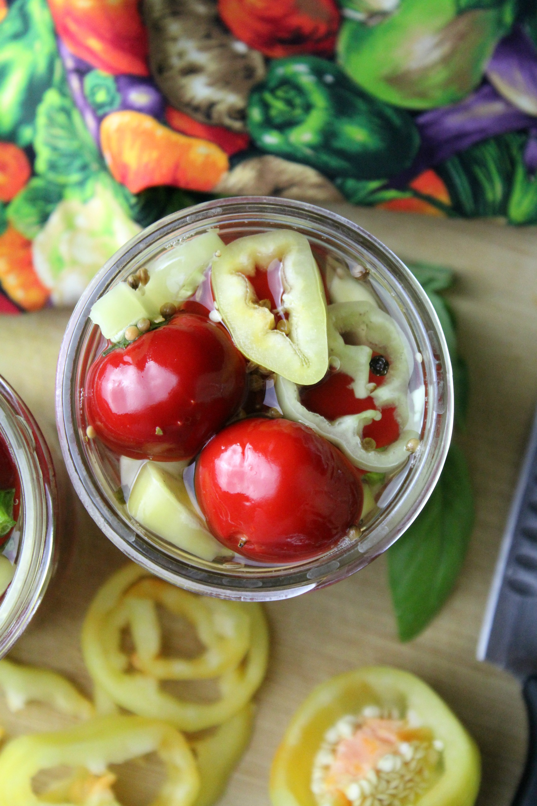 Pickled Cherry Bomb Peppers