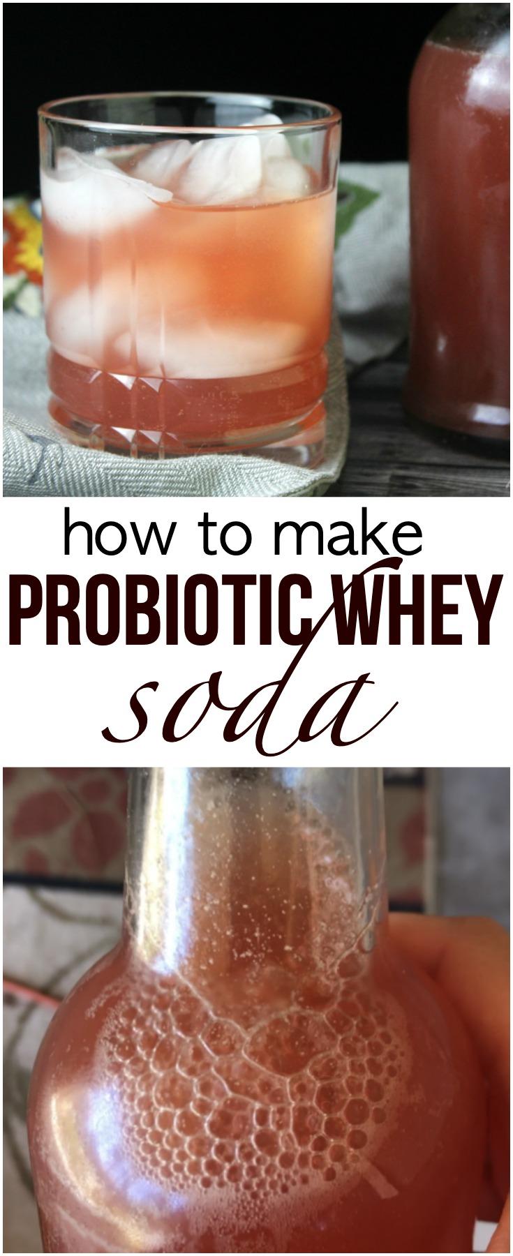 Probiotic Whey Soda