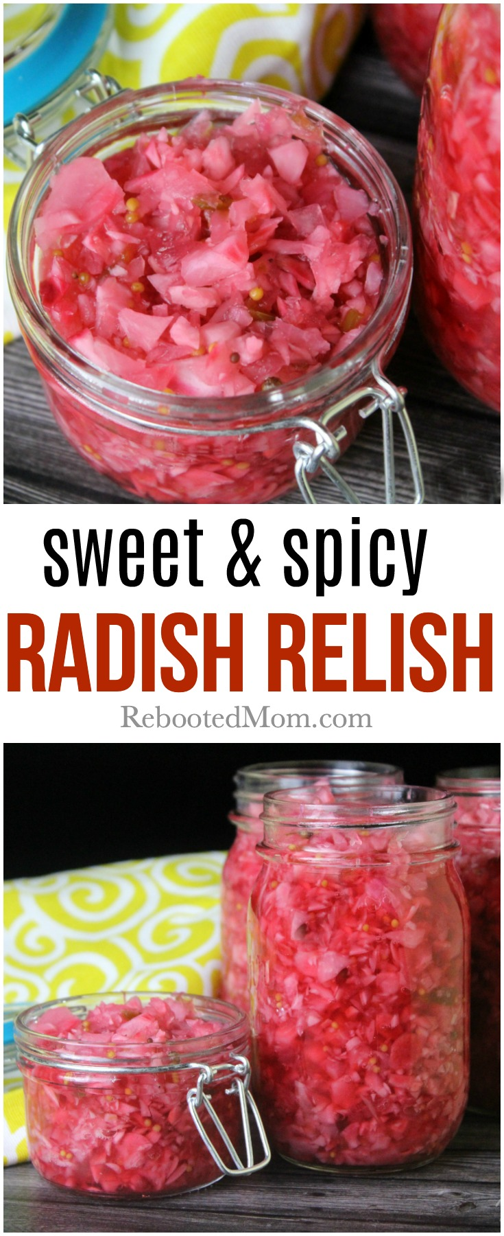 Sweet and Spicy Radish Relish