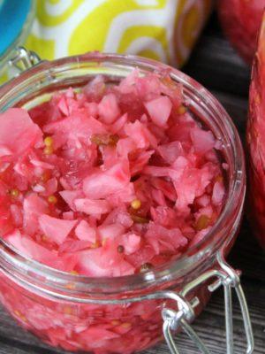 Rosy Radish Relish