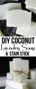 Coconut Laundry Soap & Stain Stick