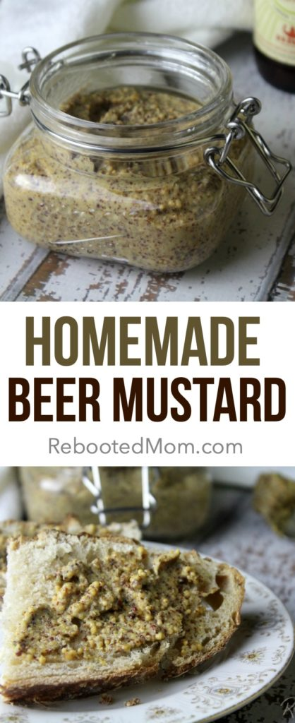 Homemade Beer Mustard