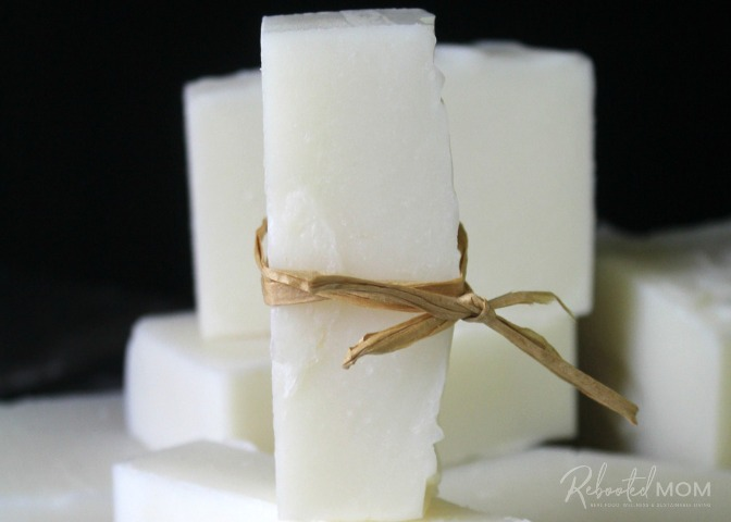 Coconut Oil Laundry Soap & Stain Stick