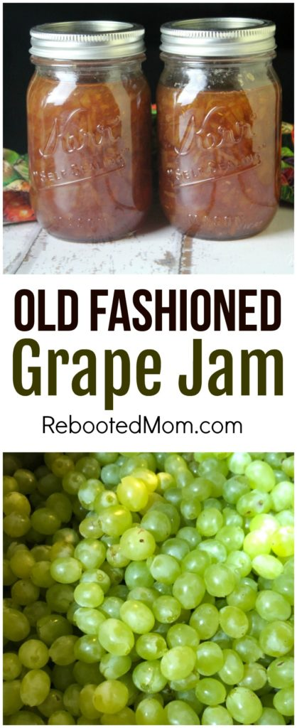 Old Fashioned Grape Jam
