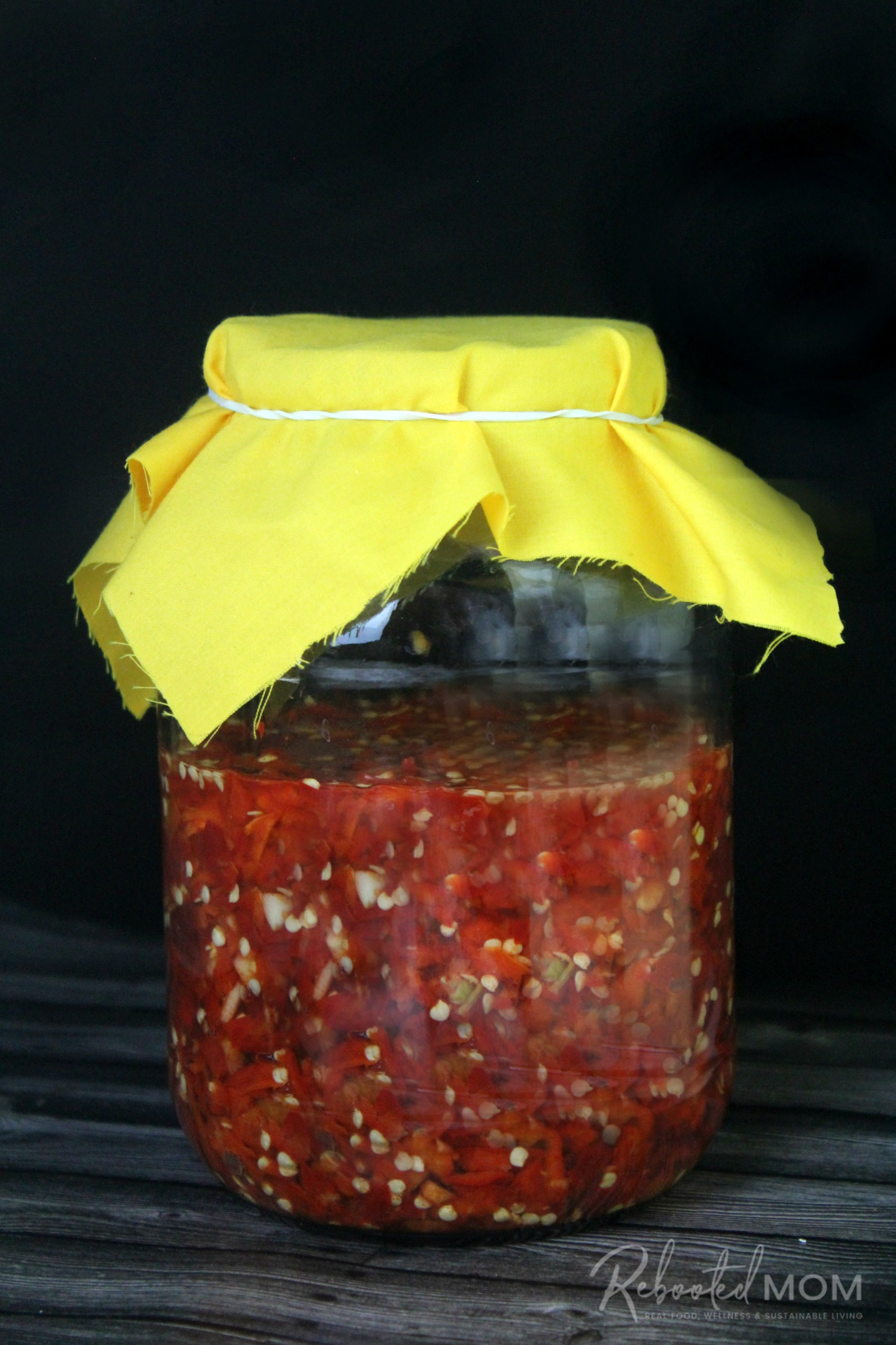 Fermented Fresno Pepper Hot Sauce