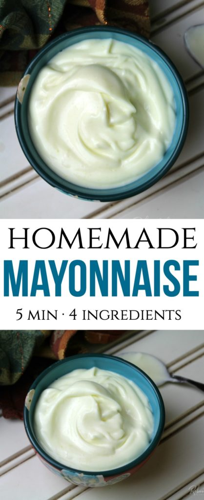 Homemade Mayonnnaise