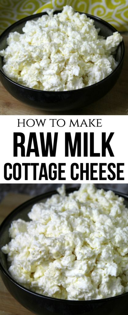 Raw Milk Cottage Cheese